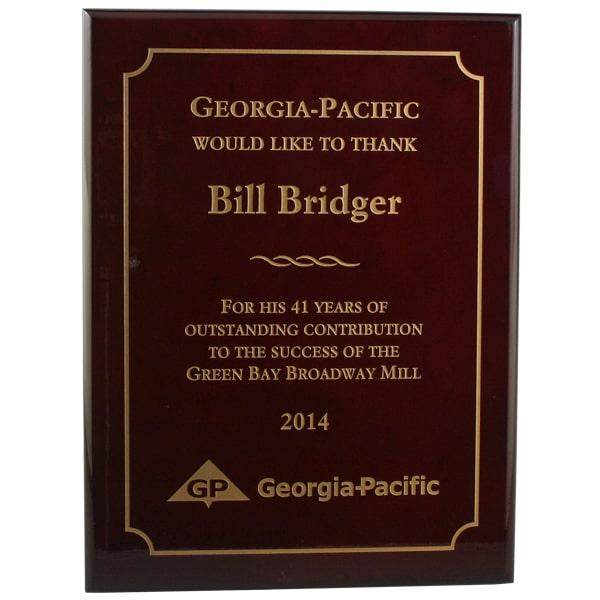 Plaques & Framed Awards - Global Recognition Inc